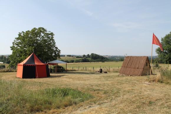Campement médiévale gîte de Lacroux