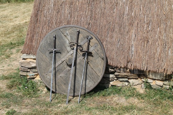 armurerie campement médiéval gîte de Lacroux