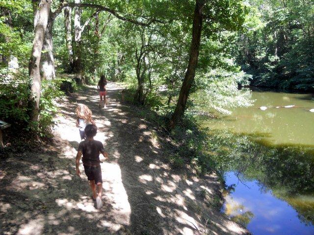 sentier botanique de Thuriès dans le Tarn